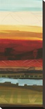 Skyline Symmetry Panel II Stretched Canvas Print by Jeni Lee