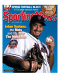 New York Mets P Johan Santana - April 7, 2008 Posters