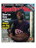 Minnesota Twins CF Torii Hunter - June 7, 2004 Print