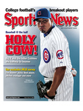 Chicago Cubs P Carlos Zambrano - July 14, 2008 Prints
