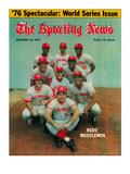 Cincinnati Reds - October 23, 1976 Foto