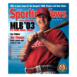 Philadelphia Phillies DH Jim Thome - March 31, 2003 Posters
