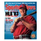Philadelphia Phillies DH Jim Thome - March 31, 2003 Prints