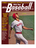 Boston Red Sox CF Fred Lynn - 1976 Street and Smith&#39;s Posters
