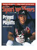 Atlanta Braves OF Andruw Jones - October 9, 2000 Prints