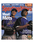 New York Mets Carlos Beltran and Pedro Martinez - March 11, 2005 Posters