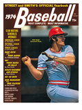 Cincinnati Reds 3B Pete Rose - 1974 Street and Smith&#39;s Posters