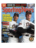 Houston Astros Andy Pettitte and Roger Clemens - February 16, 2004 Prints