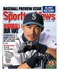 Seattle Mariners RF Ichiro Suzuki - March 25, 2002 Prints