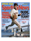 San Francisco Giants P Barry Zito - February 19, 2007 Posters