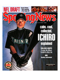 Seattle Mariners OF Ichiro Suzuki - March 10, 2003 Print