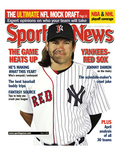 New York Yankees and Boston Red Sox OF Johnny Damon - May 5, 2006 Photo