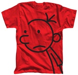 Youth: Diary of a Wimpy Kid - Big Face T-Shirt