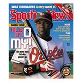 Baltimore Orioles 3B Miguel Tejada - March 29, 2004 Prints