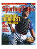 Texas Rangers C Pudge Rodriguez - May 1, 2000 Kunstdrucke