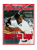 Chicago White Sox 1B Frank Thomas - September 20, 1993 Photo