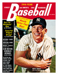New York Yankees' Mickey Mantle - 1964 Street and Smith's Prints