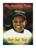 San Francisco Giants OF Willie Mays - July 25, 1970 Premium Photographic Print