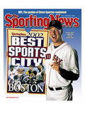 Best Sports City Boston - Boston Red Sox P Derek Lowe - August 12, 2002 Print