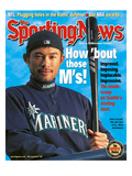 Seattle Mariners OF Ichiro Suzuki - May 21, 2001 Prints