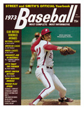 Philadelphia Phillies P Steve Carlton - 1973 Street and Smith's Photo