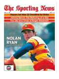 Houston Astros P Nolan Ryan - April 19, 1980 Prints
