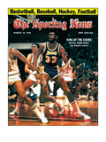 Los Angeles Lakers&#39; Kareem Abdul-Jabbar - March 25, 1978 Print