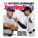 Chicago's Lou Piniella and Ozzie Guillen - May 11, 2009 Photographie