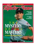 Atlanta Braves Pitcher Greg Maddux - October 9, 1995 Photographie