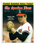 California Angels P Nolan Ryan - May 17, 1975 Photo
