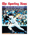 New York Yankees OF Reggie Jackson - August 2, 1980 Prints