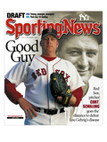 Boston Red Sox P Curt Schilling and New York Yankees 1B Lou Gehrig - July 5, 2004 Prints