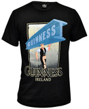 Guinness - Black Distressed Strength Tshirts