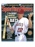 Anaheim Angels SS David Eckstein - June 2, 2003 Prints