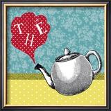 Tee Poster von Helene Druvert