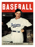 Brooklyn Dodgers Manager Leo Durocher - 1947 Street and Smith's Print