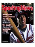 Atlanta Braves SS Yunel Escobar - July 7, 2008 Poster