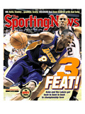 Los Angeles Lakers' Kobe Bryant - NBA Champions - June 24, 2002 Posters