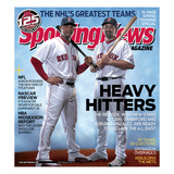 Boston Red Sox Carl Crawford and Adrian Gonzalez - February 14, 2011 Posters