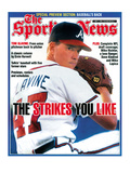 Atlanta Braves Pitcher Tom Glavine - May 1, 1995 Prints