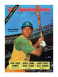 Oakland Athletics OF Reggie Jackson - July 26, 1969 Photo