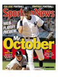 New York Yankees SS Derek Jeter - October 6, 2006 Print