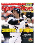 New York Mets C Mike Piazza - April 23, 2001 Premium Photographic Print