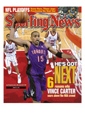 Toronto Raptors' Vince Carter - January 24, 2000 Premium Photographic Print