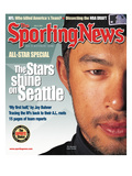 Seattle Mariners OF Ichiro Suzuki - July 9, 2001 Poster