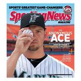 Florida Marlins Pitcher Josh Johnson - May 23, 2011 Prints