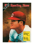 Cincinnati Reds Slugger Pete Rose - July 18, 1970 Poster