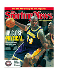 Los Angeles Lakers' Shaquille O'Neal - March 11, 1998 Prints