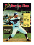 Sporting News Magazine October 25, 1969 - Minnesota Twins&#39; Harmon Killebrew - Lethal Swinger Poster
