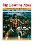 Los Angeles Lakers' Magic Johnson - March 15, 1980 Photographie